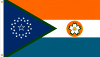 Florida State Flag Proposal No. 6e Designed By Stephen Richard Barlow 19 JAN 2015 at 1739 HRS CST.