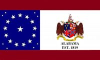 Alabama State Flag Proposal Sons of Liberty Alabama Est 1819 Concept Designed By Stephen Richard Barlow 22 JULY 2014