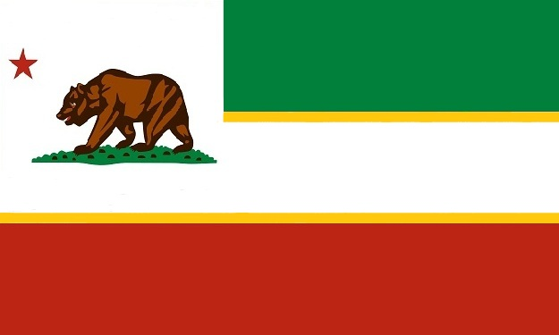 File:California State Flag Proposal No 7 Designed By Stephen Richard Barlow 7 AUG 2014 0605hrs cst.jpg
