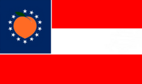 Georgia State Flag Proposal No 16 Designed By Stephen Richard Barlow 28 AuG 2014 at 0848hrs cst