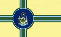 Maine State Flag Proposal No 13 Designed By Stephen Richard Barlow 27 OCT 2014 at 1459hrs cst
