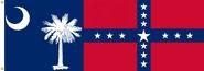 South Carolina State Flag Proposal No. 18a Designed By Stephen Richard Barlow 13 JAN 2015 at 1037 HRS CST