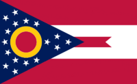 Ohio State Flag Proposal No. 2 Designed By Stephen Richard Barlow 29 AuG 2014 at 1146hrs cst