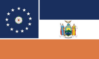 New York State Flag Proposal Designed By Stephen Richard Barlow 26 SEP 2014 at 1106hrs cst