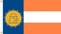Georgia State Flag Proposal No 3b Designed By Stephen Richard Barlow 17 MAR 2015 at 0359 HRS CST