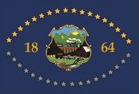 Nevada State Flag Proposal No 4 By Stephen Richard Barlow 18 OCT 2014 at 0912hrs cst