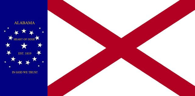 File:Alabama State Flag 22 Star Heart of Dixie In God We Trust Concept Designed By Stephen R Barlow 62714.jpg