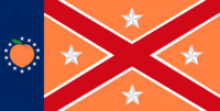 Georgia State Flag Proposal No 20i Designed By Stephen Richard Barlow 25 NOV 2014 at 0612 hrs cst