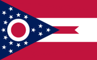 Ohio State Flag Proposal No. 1 Designed By Stephen Richard Barlow 29 AuG 2014 at 1144hrs cst