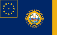 New Hampshire State Flag Proposal No 1 By Stephen Richard Barlow 13 AuG 2014