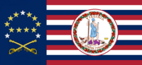 Virginia State Flag Proposal No 18f Designed By Stephen Richard Barlow 19 NOV 2014 at 1154 hrs cst