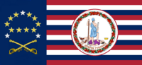 Virginia State Flag Proposal No 18g Designed By Stephen Richard Barlow 19 NOV 2014 at 1206 hrs cst