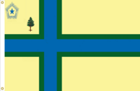 Maine Flag Proposal No. 15 Designed By Stephen Richard Barlow 18 MAY 2015 at 1002 HRS CST.