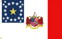 Alabama State Flag Proposal Blood Stained Banner Designed By Stephen Richard Barlow 2 JAN 2015 at 0939 HRS CST
