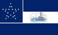 Mississippi State Flag Proposal No. 3 Designed By Stephen R Barlow 17 Aug 2014 at 0814hrs cst