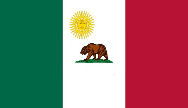 File:California State Flag Proposal No 4 Designed By Stephen Richard Barlow 5 AUG 2014 at 0658hrs cst.jpg