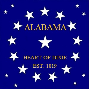 File:ALABAMA STATE FLAG 22 Star HEART OF DIXIE Canton Designed By Stephen Richard Barlow 62914.jpg