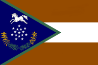 Kentucky State Flag Proposal No 29j Designed By Stephen Richard Barlow 18 NOV 2014 at 0433 hrs cst
