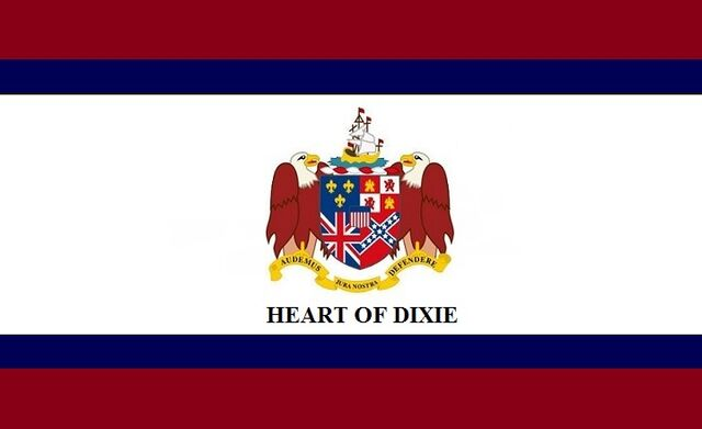 File:Alabama State Flag Proposal Crimson Blue and White HEART OF DIXIE Designed By Stephen Richard Barlow 25 July 2014.jpg