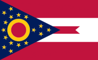 Ohio State Flag Proposal No. 4 Designed By Stephen Richard Barlow 29 AuG 2014 at 1148hrs cst