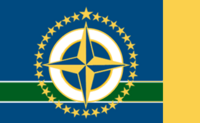Minnesota State Flag 32 Star Proposal No 4 Designed By Stephen Richard Barlow 18 AuG 2014 at 1130hrs cst