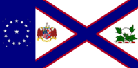 Alabama State Flag Proposal with Alabama Constellation Designed By Stephen Richard Barlow 19 OCT 2014 1122hrs cst