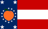 Georgia State Flag Proposal No 19 Designed By Stephen Richard Barlow 28 AuG 2014 at 0918hrs cst