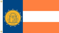 Georgia State Flag Proposal No 3a Designed By Stephen Richard Barlow 17 MAR 2015 at 0355 HRS CST