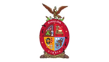 De facto flag of Sinaloa