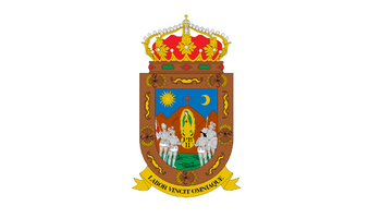 De facto flag of Zacatecas