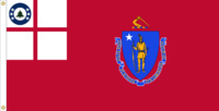 Massachusetts Flag Proposal No. 10 Designed By Stephen Richard Barlow 19 MAY 2015 at 1422 HRS CST.