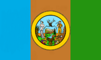 Idaho State Flag Proposal No 1 Designed By Stephen Richard Barlow 26 OCT 2014 at 1114hrs cst