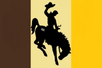 Wyoming State Flag Proposal No 5 Designed By Stephen Richard Barlow 08 OCT 2014 at 1028hrs cst