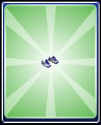 Blue sneakers boys