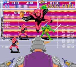Teenage Mutant Ninja Turtles IV - Turtles in Time (SNES)