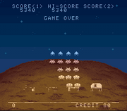Space Invaders SNES 5340