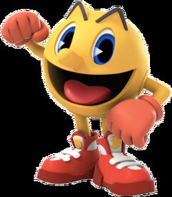 Pac-Man character art - The Adventure Begins