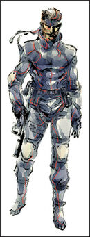 Solid Snake's sneaking Suit