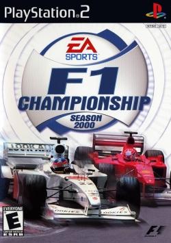 F1 Championship Season 2000 PS2 Cover