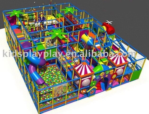 File:Rock climbing wall play castle indoor playground.jpg