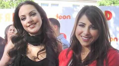 Liz Gillies and Daniella Monet @ FRED THE MOVIE Premiere!