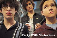 Iparty with victorious