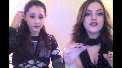 Liz Gillies & Ariana Grande The Question Game