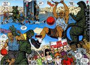 Barkley slams and jams on Godzilla