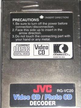 JVCVideoCDCard