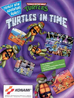 TeenageMutantNinjaTurtlesTurtlesinTimeARC