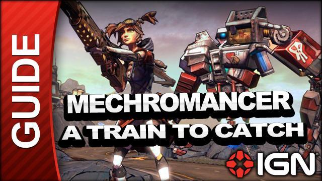 Borderlands 2 Mechromancer Walkthrough - A Train to Catch - Part 7b