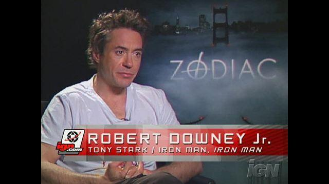 Iron Man Movie Interview - Robert Downey Jr