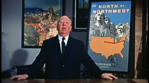 North by Northwest (1959) - Alfred Hitchcock gives a tour of the film in this trailer for the Special Edition DVD and Blu-Ray release.