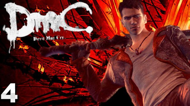 DMC Devil May Cry Walkthrough Part 4 Under Watch (W Commentary)